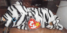 RARE Authenticated Ty MWMT-MQ Fuzzy Forehead Blizzard *Oddity*  Beanie Baby