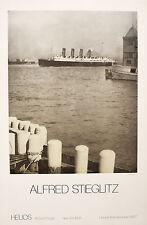 Alfred Stieglitz-The Mauretania (1910)/Poster for Exhibition at Helios, NY, 1977