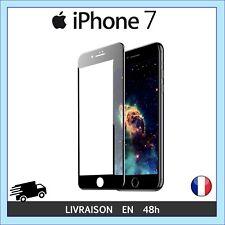 ECRAN EN VERRE TREMPE RENFORCE PROTECTION NOIR BLANC 5D IPHONE 6 6S 7 8 X PLUS