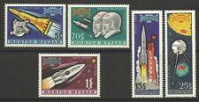 MONGOLIA 1963 SPACE FLIGHTS SET MINT