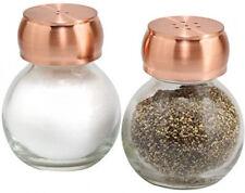 Olde Thompson 2235303 Orbit Salt and Pepper Shaker 3  Copper/Clear