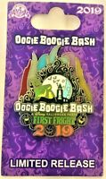 Disney Parks Disneyland Oogie Boogie Bash First Fright Pin Halloween Party LE