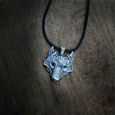 Viking Fenris Wolf Necklace - heathen asatru nordic norse fenrir thor ragnarock
