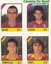 128 BRUNO - LENTINI - TEMPESTILLI - CONTI CARD CARTA CALCIO QUIZ VALLARDI 1991