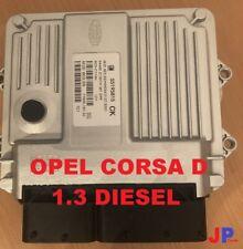 Opel Vauxhall Corsa D 1.3 Motorsteuergerät ECU 55195815 CK DPF Z13DTH MJD6O3.S5