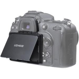 LCD Screen Protector Pop-up Sun Shade Hood Cover for Nikon D7100 D7200 Camera