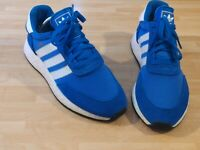 🔥 Adidas Originals I-5923 Iniki Boost Royal Blue B27872 Runner Gym Running UK 8