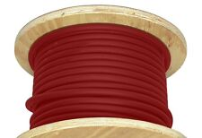 200' 2/0 Gauge Welding Cable Red Portable Flexible New Wire