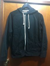 TARGET BLACK ZIP UP MENS HOODIE BNWOT  SZ L  FREE POST (F23) WINTER FLEECE LINED