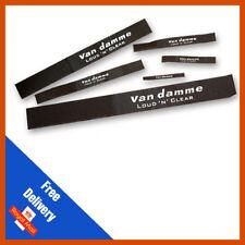 Van Damme Reusable Releasable Hook and Loop Nylon Velcro Cable ties (10 Pack)