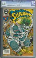 Superman Man Of Steel #18 Cgc 9.8 White Pages