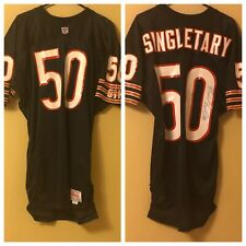 Mike Singletary Autographed 92 Game Issued Jersey