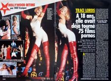 Pornstar TRACI LORDS => 2 pages 1992 FRENCH CLIPPING // COUPURE DE PRESSE