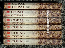 Hem Copal Incense 6 x 20 Stick, 120 Incense Sticks New {:-)