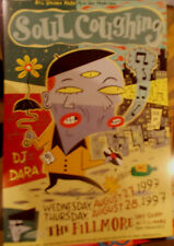 SOUL COUGHING FILLMORE POSTER DJ Daro F283 ORIGINAL  BILL GRAHAM  Stromberg