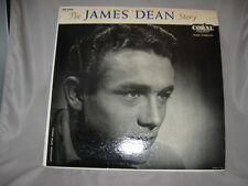 LP - THE JAMES DEAN STORY - CORAL CRL 57099 NARRATED BY STEVE ALLEN
