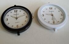 SET OF 2 BLACK & WHITE WATCH FACES FOR BEADING,RIBBON OR OTHER USE