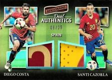 Panini Spain Not Autographed Football Trading Cards