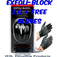 CARBON COLLECTIVE EXFOLI-BLOCK 2.0 INTERCHANGEABLE CAR CLAY SYSTEM BAR + GLOVES