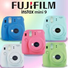 Fuji Instax Mini 9 Fujifilm Instant Film Polaroid Camera All Colors