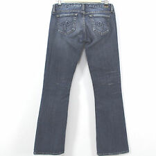 Guess Jeans Foxy Flare Blue Stretch Denim Jeans Womens Size 28 x 31.5