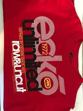 Ecko Red Unltd T-Shirt Kids Red Short Sleeve Large