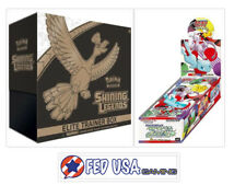 POKEMON TCG Shining Legends Elite Trainer Box + Japanese SM3+ Booster Box Bundle