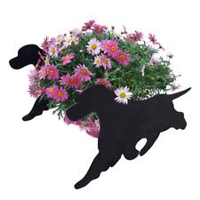 Cocker Spaniel Dog  On The Move Garden Planter Flower Plant Pot Holder
