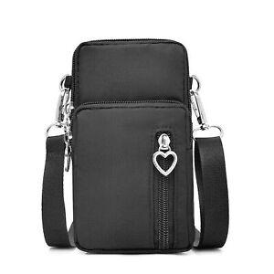 Ladies small shoulder bag mobile phone pocket wallet hip bag card pocket mini