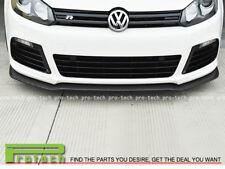 For 2012-2013 Volkswagen Golf GTI MK6 E Style Carbon Front Bumper Lip Spoiler