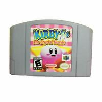 Kirby 64: The Crystal Shards Game Card for Nintendo 64 N64 US Version
