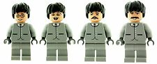 Custom Designed Minifigures - The Beatles Music Members Printed On LEGO Parts