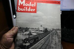 Model Builder, March, 1949, volume 13, no. 79,  good condition,