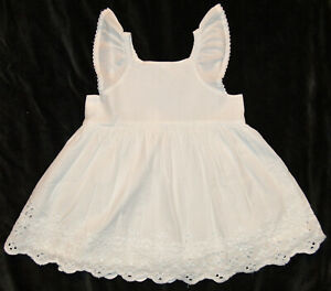 Baby Gap Factory NWT White Eyelet Portrait Dress 3-6-12-18-24 Months $40