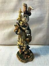 Boyds Bear & Friends Folkstones Momma McHutch & Babies Family 7E Figurine 28403