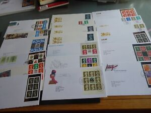 G.B.  19 DEFINITIVE FIRST DAY COVERS
