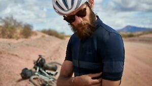 Rapha brevet hi viz short sleeve cycling lightweight jersey large A+++++ Shape!