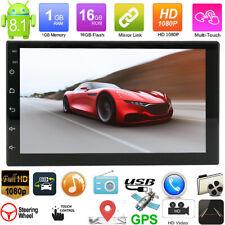 2Din 7in Autoradio 8.1 MP5 Player GPS StereoNavigation WiFi Bluetooth USB FM