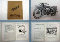 Schüttoff Typ L 200 ccm Handbuch Betriebsanleitung Beschreibung 1928
