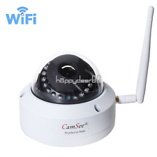 Wireless HD 720P Security Network Metal Dome IP Camera Outdoor Night Vision