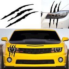 Monster Claw Scratch Decal Headlight Car Decoration Vinyl Sticker Kit Halloween