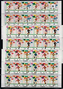 OK 6X PENRHYN 1982 - MNH - SOCCER - SPAIN - SPORT - EMBLEMS - WHOLESALE