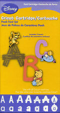 "Cricut Cartridge ""DISNEY POOH & FRIENDS FONT"" - (NEW) - RD28"