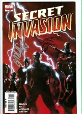 Secret Invasion #1 signed by Brian Michael Bendis and Gabriele Dell'Otto