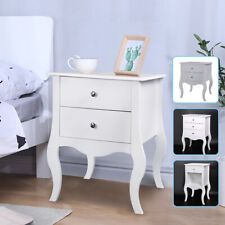 NEW Bedside Chest Side Table Nightstand 1 2 3 Drawers Cabinet Camille Furniture