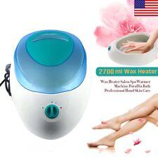 Large Wax Heater Salon Spa Warmer Machine Paraffin Bath Hand Skin Care+US Plug