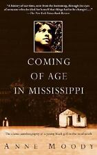 NEW Coming of Age in Mississippi by Anne Moody Paperback Book (English) Free Shi
