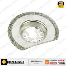 MB25O 63mm Diamond Semi-Round Electroplated Blades 25/Pack Fits Fein Multimaster