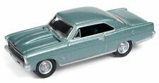 1966 Chevrolet NOVA SS  Green *RR** Johnny Lightning Muscle Auto World 1:64 NEU