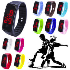 Child Kid Casual LED Digital Display Bracelet Watch Boys Girls Sports Watches US